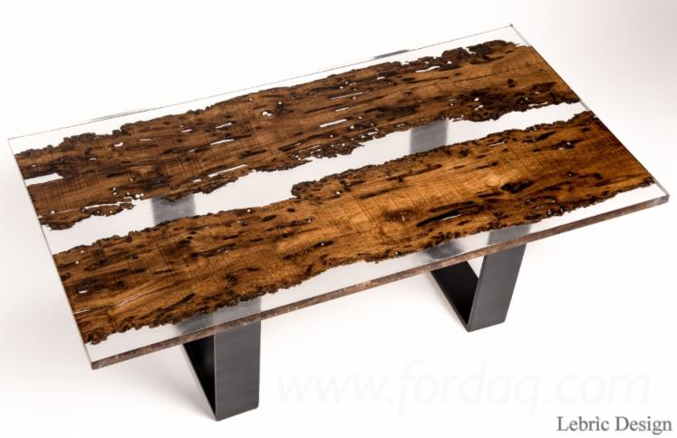 Delightful TABLES MADE OF WOOD AND EPOXY RESIN