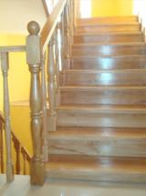 Stairs Finished Products - Oak Embossing Solid Wood Doors