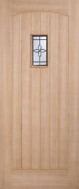 Двері, Вікна, Сходи - Азіатська Листяна Деревина, Двері, Деревина Масив З Обробкою З Ін. Матеріалу, Meranti, Light Red