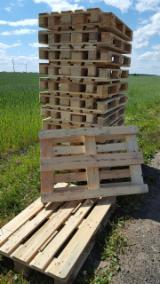 EURO PALLETS, wooden packaging