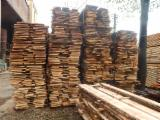 Hardwood  Unedged Timber - Flitches - Boules - Oak Loose Boards
