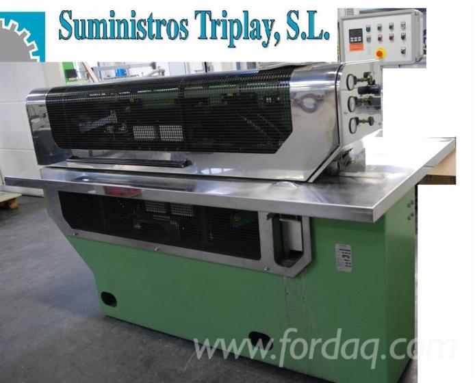Used-1997-Kuper-Fli-Longitudinal-Veneer-Splicer-Machine-With-Gluing