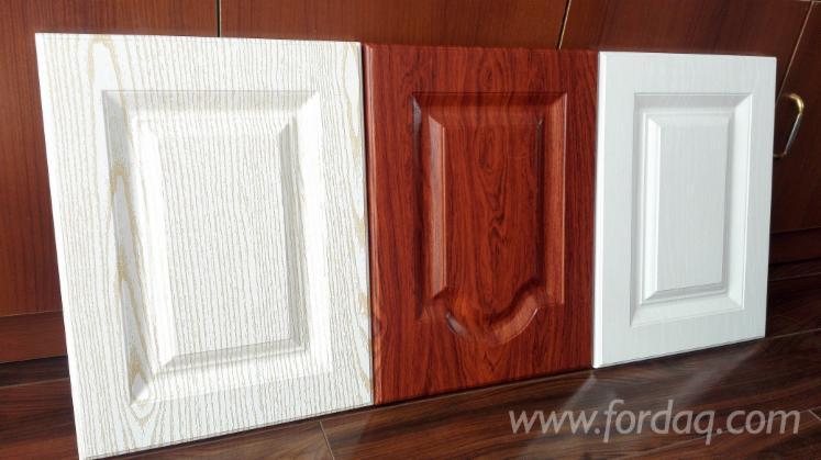 Pvc Laminated Mdf Kitchen Cabinet Door