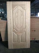 White Oak HDF Moulded Door Skin/White Oak MDF Door Skin