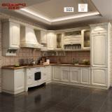 Kitchen Furniture -  Modern Solid Wooden Painted Kitchen Cabinet