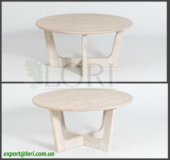 Кавовий дубовий стіл ЗЕТО