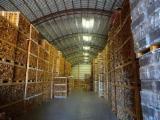 印度尼西亚 - Fordaq 在线 市場 - 劈好的薪柴-未劈的薪柴 薪碳材/开裂原木 棕灰, 榉木