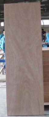 Plywood Okoumé Gaboon, Okaka, Azouga CE For Sale - Okoume Plywood Doors 915x2135x2.7mm