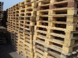 Recycled - Used In Good State  Pallets And Packaging - Used Wooden Euro Pallets EPAL