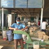 Wood briquettes made in Vietnam for export