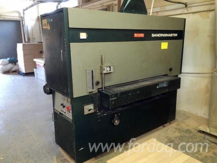 Gebraucht-Sandingmaster-1993-Schleifmaschinen-Mit-Schleifband-Zu-Verkaufen