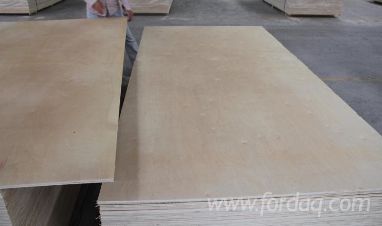 C Grade Plywood ~ C grade birch veneer natural rotary cut