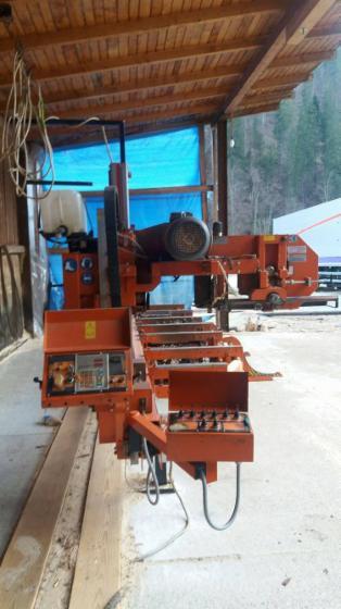Used-Wood-Mizer-LT-20-Super-Hydraulic-LT-20-SHidraulyc-2014-Band-Resaws-For-Sale