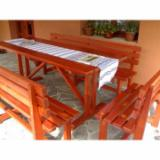 Romania Garden Furniture - Contemporary Fir (Abies Alba) Garden Sets Romania