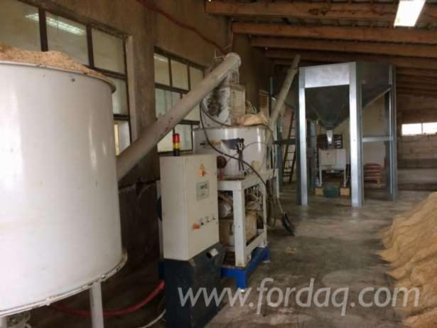 Vendo pellet linea di produzione usato romania in vendita for Impianto produzione pellet usato