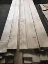 Sliced Veneer For Sale - White Oak Flat Cut, Plain Natural Veneer Turkey