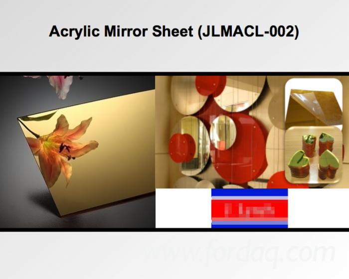 Acrylic (PMMA) Mirror Sheet (JLMACL-002) with Scratch Resistance