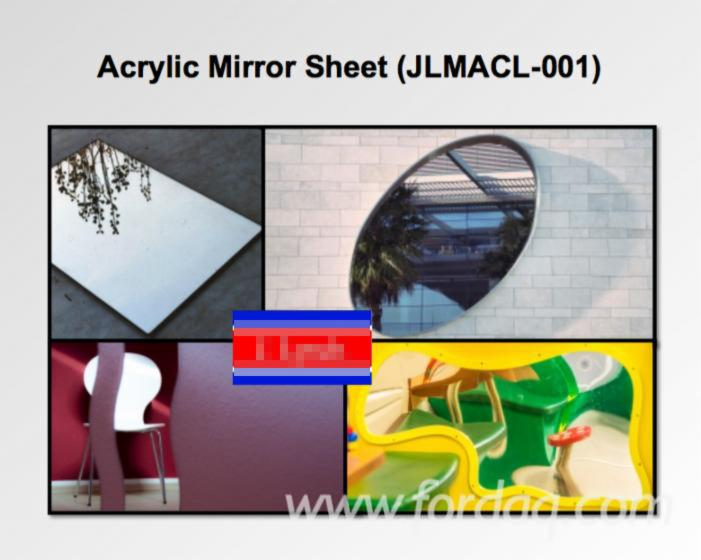 Acrylic (PMMA) Mirror Sheet (JLMACL-001) with Scratch Resistance