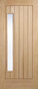Двері, Вікна, Сходи - Двері, Древесноструганна Пліта ДСП, Шпон Покритий Вінілом