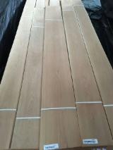 天然单板, 硬枫木, 向下刨平
