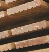 平滑(重黄)娑罗双木, 企口地板-拼花地板