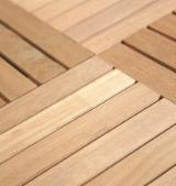 平滑(重黄)娑罗双木, 花园铺路木砖