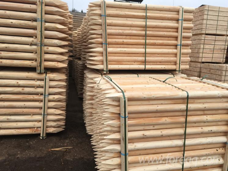 Vend piquets tuteurs pin bois rouge epic a bois blancs lettonie - Tuteur bois brico depot ...