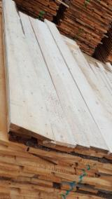 Softwood  Sawn Timber - Lumber For Sale - 25 mm Air Dry (AD) Spruce  - Whitewood Romania
