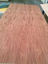 Engineered Panels China - Natural Bubinga Veneered MDF, 2.5-25 mm