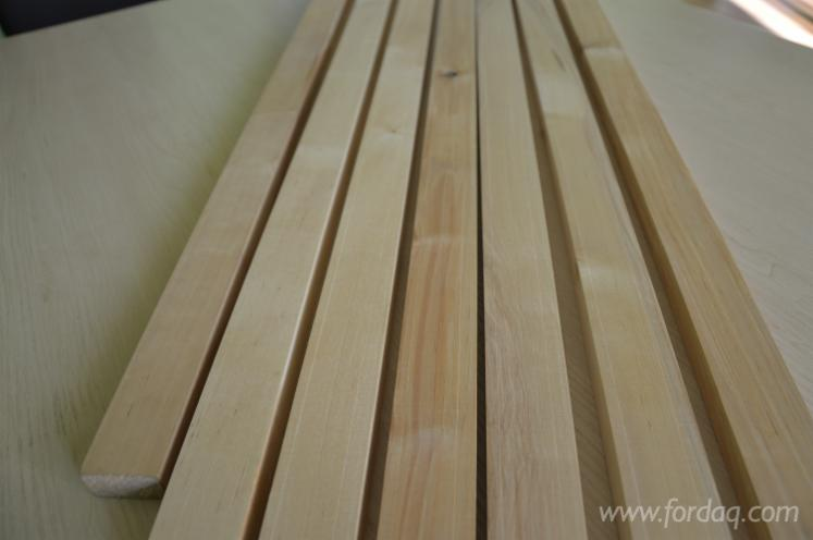 Birch lumber strips and boards kd all grades mm