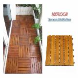Exterior Decking  For Sale - Acacia Wood floor for swimming pool
