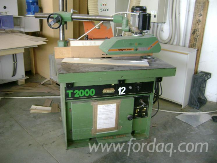 Single-spindle-Moulders-GRIGGIO-T2000-Polovna