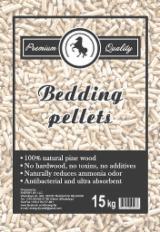 Animals bedding pellets