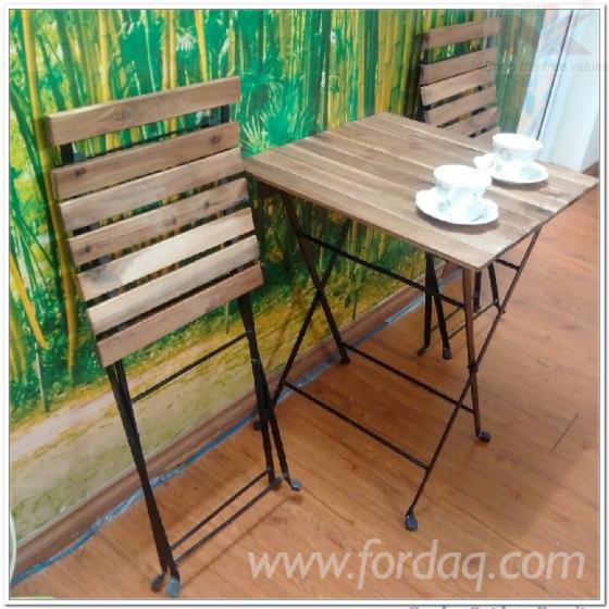 Acacia Wood Garden Folding Set