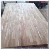 ISO-14001 Certified Solid Wood Panels - Acacia Finger Jointed Panels, AB / AC / BC, 12-44 mm thick