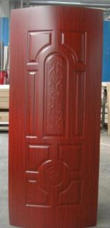 Wood Components, Mouldings, Doors & Windows, Houses - Teak/oak/walnut/sapele/Beech/Wenge Melamine HDF moulded door skin