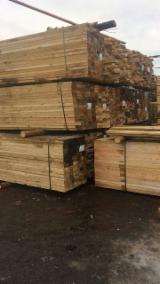 Laubholz  Blockware, Unbesäumtes Holz Litauen - Einseitig Besäumte Bretter