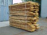 Hardwood  Unedged Timber - Flitches - Boules - Loose Oak, KD, 40 - 50 mm