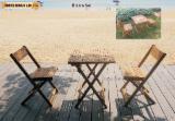 Meubles De Jardin à vendre - Vend Ensemble De Jardin Design Feuillus Européens Acacia