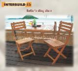Meubles De Jardin à vendre - Vend Chaises De Jardin Design Feuillus Européens Acacia