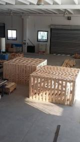 Wooden Pallets For Sale - Buy Pallets Worldwide On Fordaq - Industrial Crates, New