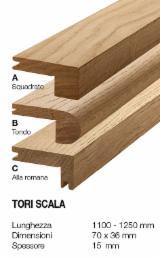 Cornici - Profili In Legno  In Vendita - Tori scala rovere antico 70 x 36 mm