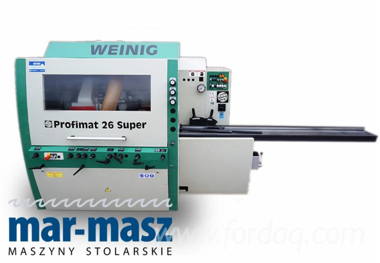 Used-2000-WEINIG-Profimat-26-Super-4-Sided-Planer