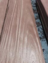 Sliced Veneer - Sapelli  Quartered, Figured Natural Veneer Spain