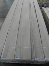 Oak  Sliced Veneer - Oak Quartered Figured Natural Veneer