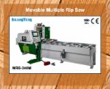 KUANG YUNG Woodworking Machinery - Movable Multiple Rip Saw (MRS-340M)