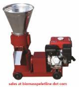 Pellet Press - 30-500KG/Hour Flat Die Pellet Mill for Biomass Fuel
