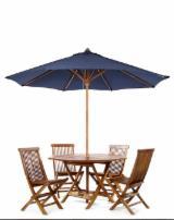 Meble Użytkowe Teak - Krzesła Na Tarasy Restauracyjne, Zestaw – Montaż Samodzielny, 1 - 2 kontenery 20' Jeden raz