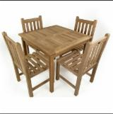 Natural Wood Contract Furniture - Best Prices Teak Restaurant Dining Sets