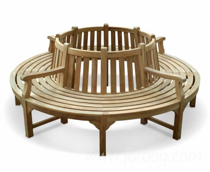Prime Teak Round Garden Bench From Indonesia Gmtry Best Dining Table And Chair Ideas Images Gmtryco
